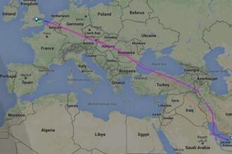 Alerta maxima in Ungaria. Motivul pentru care un avion al British Airways a fost escortat de doua aeronave de lupta