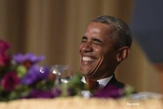 Ultimul dineu al corespondentilor pentru Barack Obama. Ironiile adresate de presedintele SUA lui Donald Trump