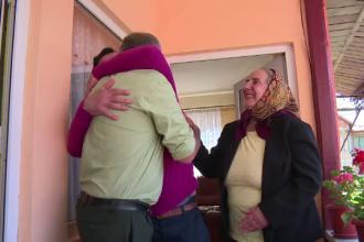 Paste cu lacrimi in ochi pentru romanii plecati la munca in Europa: