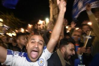 Miracolul Leicester City. Cum au sarbatorit fanii echipei, dupa una dintre cele mai mari surprize din istoria sportului