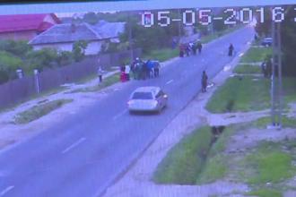 Razboi intre doua clanuri de tigani din Arges filmat de camerele de supraveghere. Un politist a fost ranit in incaierare