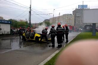 Decizia luata de judecatori in cazul taximetristului care si-a incendiat masina dupa ce a fost amendat de politisti