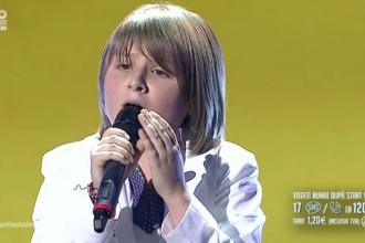 Eduard Stoica, pustiul de 9 ani care a amutit Romania. A impresionat pana la lacrimi in semifinala Romanii au Talent
