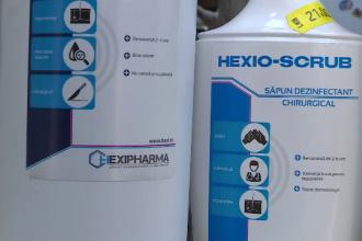 Hexi Pharma si-a cerut insolventa, la doua saptamani de la izbucnirea scandalului privind dezinfectantii diluati