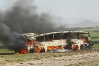 Tragedie in Afganistan. 2 autocare s-au ciocnit cu o cisterna: 73 de oameni au murit, iar numarul victimelor ar putea creste