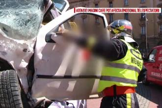 Campanie SMURD pentru prevenirea accidentelor rutiere. Metoda socanta la care au apelat pentru a-i responsabiliza pe soferi