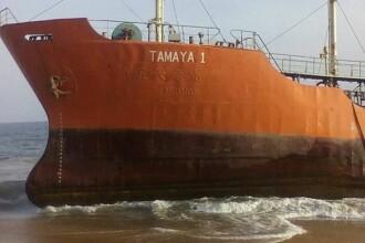 O nava petroliera, disparuta de 3 saptamani, a aparut pe o plaja. Ce au descoperit localnicii cand s-au uitat inauntru