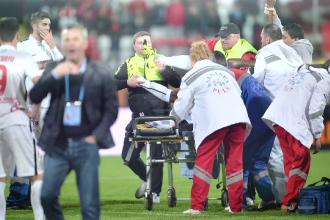 Cazul fotbalistului Ekeng: Medicul de pe ambulanţă, trimis în judecată