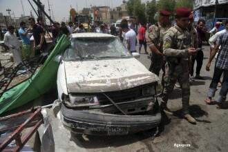 Cel putin 64 morti intr-un atentat in apropierea unei piete din Irak. Atacul a fost revendicat de Statul Islamic