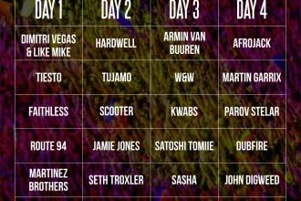 Programul pe zile la UNTOLD. Ia-ti acum biletul pe o zi la cel mai bun festival din Europa!