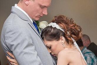 Nunta la care toata lumea a plans. Vestea tragica pe care a primit-o mireasa cu doua saptamani inainte
