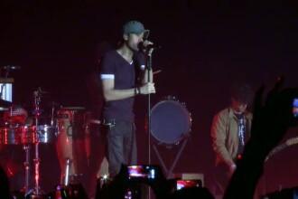 Enrique Iglesias a facut spectacol la concertul din Capitala. Pe cine a invitat alaturi de el pe scena