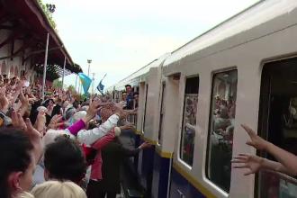 1.000 de pelerini au venit la noi pentru a sarbatori Rusaliile catolice. Primirea calduroasa de care au avut parte