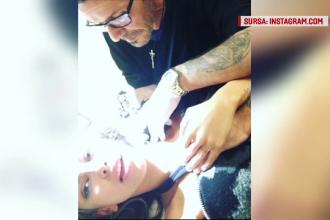 Culmea ironiei. Madalina Ghenea si-a sters de pe gat tatuajul cu numele fostului iubit la un medic pe care-l cheama la fel