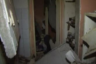 Clipe de groaza pentru locuitorii unui bloc din Turda. O explozie a afectat 20 de apartamente: