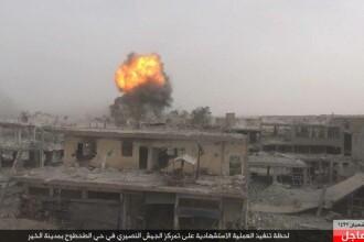 Atac al gruparii Stat Islamic asupra unui spital din Deir Ezzor. Cel putin 20 de soldati sirieni au fost ucisi