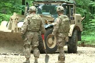 Militarii americani repara drumurile din Republica Moldova. Traseul pe care vor sa-l termine in 5 zile. VIDEO
