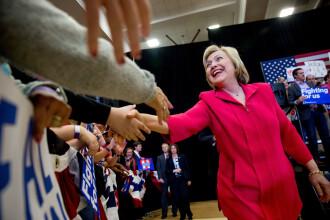 AP: Hillary Clinton a strans numarul de delegati necesari pentru a fi candidatul democratilor in cursa pentru Casa Alba