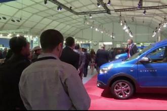 Dacia Renault, cea mai importanta prezenta la Targul de masini din Casablanca.