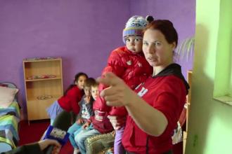 Saracia crunta in care traieste o familie cu 7 copii, din Iasi:
