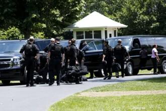 Alerta de securitate la Casa Alba. Un barbat inarmat a fost impuscat in abdomen de Secret Service