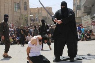 Primele imagini cu calaul de 125 de kg. al Statului Islamic. Ipostaza sangeroasa in care