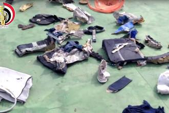 Surse: Pilotul avionului EgyptAir a incercat o coborare brusca pentru a dispersa fumul din cabina. Bucati, gasite in mare