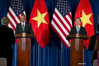 Vizita lui Barack Obama in Vietnam. Decizia istorica anuntata de presedintele SUA
