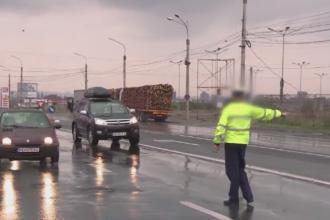 Politist din Sibiu, trimis in judecata pentru ca a fost prea