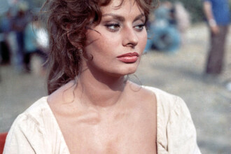 Una dintre cele mai frumoase femei din toate timpurile, vine in Romania. Actrita Sophia Loren participa la TIFF