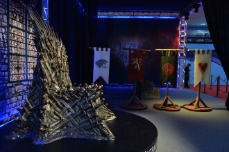 A inceput East European Comic-Con. Vedete din Game of Thrones si Lord of The Rings au ajuns la Romexpo