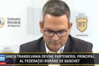 (P) Banca Transilvania devine partenerul principal al Federatiei Romane de Baschet