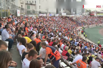 Record pentru Romania: 10.175 de oameni au fost, sambata, la Arena Nationala la cel mai mare curs de resuscitare