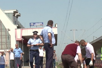 Accident cumplit in Gara din Craiova. O femeie a fost lovita mortal de tren, dupa ce nu s-a asigurat cand a traversat