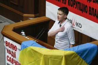 """Nadia Savcenko, arestată la Kiev. Este acuzată că ar fi plănuit """"un act terorist la scară largă"""""""