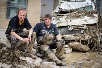 Potop in Europa de Vest. 4 oameni au murit in Germania din cauza inundatiilor, turneul Roland Garros a fost dat peste cap