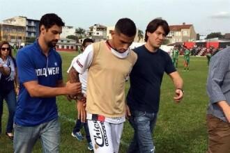 Fotbalist arestat in Brazilia in timpul unui meci, fiind acuzat ca face parte dintr-un grup de infractori