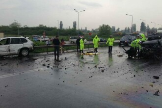 Accident pe centura municipiului Oradea. O tanara de 18 ani a murit, dupa o depasire neregulamentara