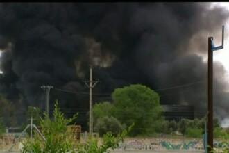 O romanca a fost ranita in seria de explozii care s-au produs la o uzina chimica in Spania