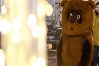 Winnie the Pooh, anchetat intr-un dosar de furt. Cum a reusit sa pacaleasca o turista venita in Moscova