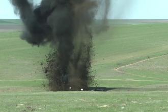 O bomba de 250 de kg din Al Doilea Razboi Mondial a fost detonata in judetul Galati