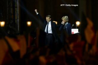 Alegeri prezidentiale in Franta. Emmanuel Macron a invins-o pe Le Pen cu 66% din voturi.