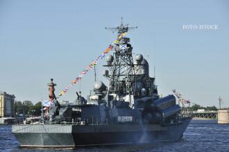 Nave de razboi rusesti, detectate in apele Letoniei. Tara baltica primeste in aceste zile o forta multinationala NATO