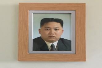 Cum a ajuns fotografia lui Kim-Jong-un in casa unui britanic: