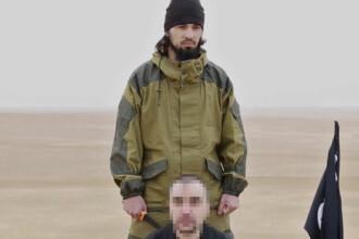 ISIS a publicat o inregistrare video cu decapitarea unui barbat, care ar fi un ofiter rus. Reactia Moscovei