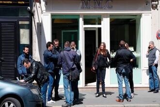 O ceasornicarie pariziana de lux a fost pradata de hoti. Ce a patit angajatul care a incercat sa-i opreasca. VIDEO