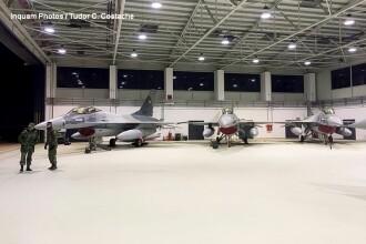 Pilotii romani de F-16 se vor antrena pe un simulator. Sistemul include misiuni si formatii de lupta tactica