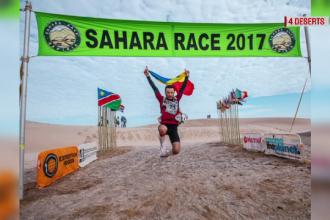 Un pompier din Botosani a alergat pentru copiii cu autism la ultramaratonul Sahara Race. Locul ocupat de Iulian Rotaru