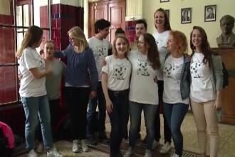 Campania pornita de tinere din Germania si Israel, dupa ce au facut practica in Romania si au vazut situatia din spitale