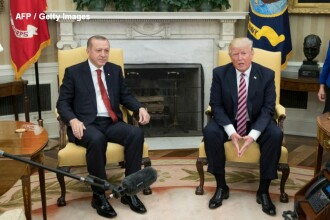 Trump a fost invitat de Erdogan în Turcia. Cum a reacţionat preşedintele SUA